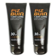 2 x Piz Buin 1 Day Long Sun Lotion SPF30 100ml
