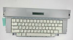 Brother SX-4000 Portable Electronic Typewriter Tested Keyboard Parts Repair