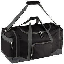 Sporttasche Tasche Reisetasche Reisekoffer Trainigstasche 90l 70x35x35cm Schwarz