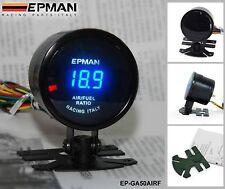 "EPMAN NEW Racing 2"" 52mm Digital Color Analog LED Air Fuel Ratio Gauge Meter"