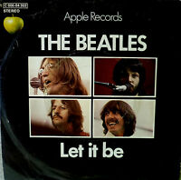 "7"" BEATLES : Let It Be / You Know My Name (( VG+++ ))"