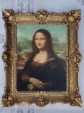 Gemälde Mona Lisa BAROCK Antik look 56x46 cm Bild Bilder Bilderrahmen NEU OVP