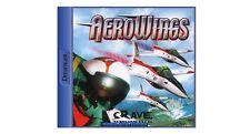 # aerowings/Aero Wings 1 (con embalaje original) - Sega Dreamcast/dc juego-Top #