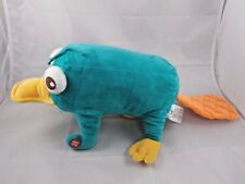 """Disney Phineas & Ferb Perry Platypus Plush 12"""" Makes Sounds Has Issue"""