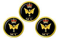 Mer Cadets SCC Communications Badge Marqueurs de Balles de Golf