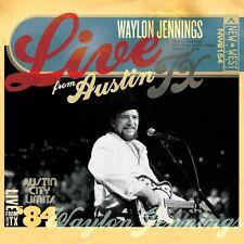 WAYLON JENNINGS - LIVE FROM AUSTIN TX 84   CD NEU