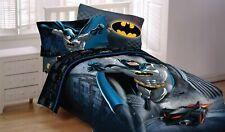Batman 4pc Twin Bedding Set Reversible Comforter Sheets Pillowcase
