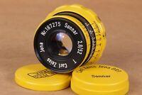 ⭐ Sonnar ⭐ Carl Zeiss Jena 2.8/52mm M39 lens for Leica Fed Zorki ( replica )