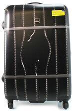 Saxoline Koffer Prison Break print Spinner 77 cm Trolley 4 Rollen Schwarz NEU