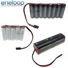 PANASONIC ENELOOP 4.8v 6v 7.2v 9.6v AA & AAA Receiver / Transmitter Battery Pack