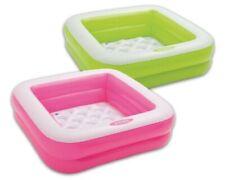Mini Bañera hinchable piscina inflable para bebe niños 85 x 85 x 23 cm