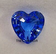 Swarovski * Scs * Lt. Sapphire Heart Paperweight * Show Off your Collection