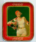 1930 COCA-COLA TIN LITHOGRAPH ADVERTISING TRAY BATHER GIRL COKE SERVING TRAY