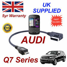 AUDI Q7 Series 4F0051510M Cable For BLACKBERRY Q10 MICRO USB Audio cable 30cm