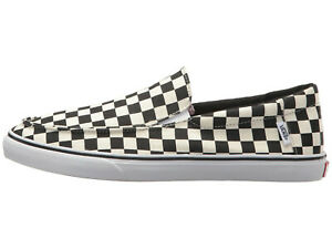 Vans Bali SF (Checker) Black/White Slipons