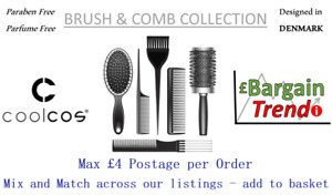 Cool Cos Denmark Paraben Parfume Cosmetics BRUSH & COMB COLLECTION #BargainTrend