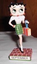 Danbury Mint Calendar Figure - Betty Boop -  September