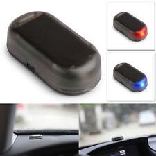 1pc Car Solar Power Dummy Alarm Red/Blue LED Car Anti-theft Warning Light Lamp~