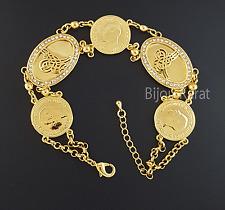 Atatürk Tugra Bileklik Gold Armband 22 Ayar Altin Kaplama Osmanli Bilezik Gelin