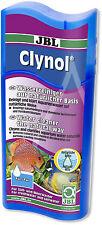 JBL CLYNOL 100ml ACQUARIO ACQUA Clarifier CLEANER odore REMOVER LIQUIDO FILTRO