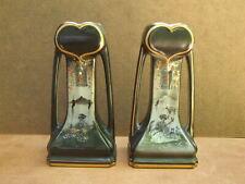Pair Art Nouveau Secessionist Japonisme Vases. British.