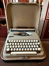 German-made 1960's Cole Steel Typewriter portable with case