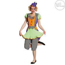 Clown-Kleid neon Damen Kostüm für Erwachsend Gr. 36