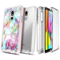 For LG Neon Plus (AT&T) Case Full Body Built-In Screen Protector Phone Cover