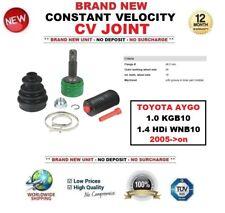 CONSTANTE velocidad Junta homocinética Para Toyota Aygo 1.0 KGB10 1.4 HDI WNB10