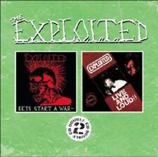 Let's Start A War/Live & Loud!! - Exploited (2009, CD NEU)2 DISC SET