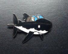 Pin's Tintin et Milou Requin  Corner 42 PARFAIT ETAT TDL 283