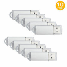 10 Pack 4GB Flash Memory Stick USB 2.0 Flash Drive High Speed Thumb Pen Storage