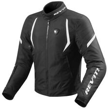 GIACCA JACKET GIUBBOTTO MOTO REV'IT REVIT JUPITER 2 H2O NERO BIANCO WHITE TG XL