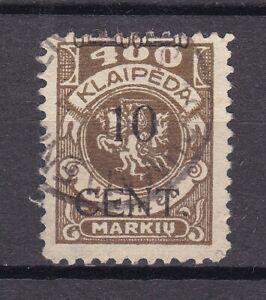 Memel - 1923 - Michel Nr. 181 - Gestempelt