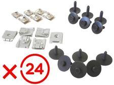 MERCEDES W203 W204 W211 PLAQUE COUVERCLE CACHE PROTECTION SOUS MOTEUR x24 CLIP