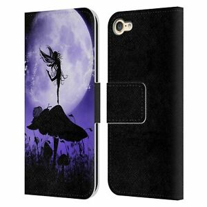SIMONE GATTERWE ANGELS AND FAIRIES LEATHER BOOK CASE FOR APPLE iPOD TOUCH MP3