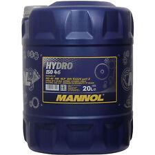 MANNOL HYDRO ISO 46 Olio Idraulico - 20 L