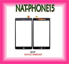 VITRE TACTILE Samsung Galaxy Tab A SM-T580 - T585 NOIR LOGO NEUF
