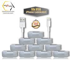 10x USB Ladekabel Kabel für iPhone 7 iPhone 6 6s 5 5s iPhone 8 iPhone X