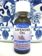 Lavender Oil, De la Cruz, Aceite de Lavanda, 1 fl oz