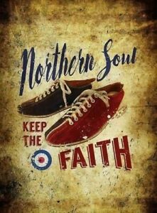 Superb Iconic A3  Northern Soul Poster