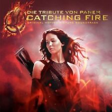 DIE TRIBUTE VON PANEM-CATCHING FIRE (DELUXE ED.)  CD  16 TRACKS SOUNDTRACK NEU