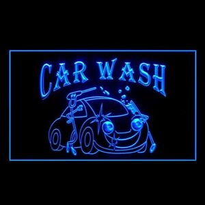 190021 OPEN Car Wash High Safety Rating Lubricated Display LED Light Sign