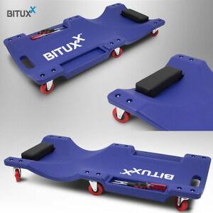 BITUXX Werkstatt-Rollbrett Werkstattliege Auto Montageliege Montagerollbrett