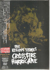 "ROLLING STONES ""Crossfire Hurricane"" DVD + SHIRT Japan Box"