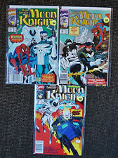 Marc Spector: Moon Knight #19,#20,#25 (Lot of 3 books - Marvel, 1990) - VF to NM
