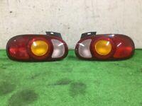 JDM 1999 Mazda MX-5 MIATA Roadster NB Taillights Tail Lights Lamps Set OEM