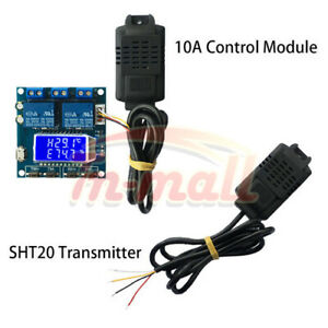 RS485 Controller Transmitter SHT20 Temperature Humidity 10A Control Module