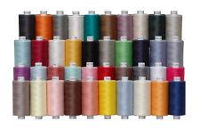 40 abrigos Luna poliéster Hilo de coser, 1000yds Cada Carrete