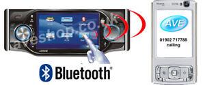 """CDVD-401BT (Bluetooth) 4"""" DVD Touch Screen FM/AM & TV"""